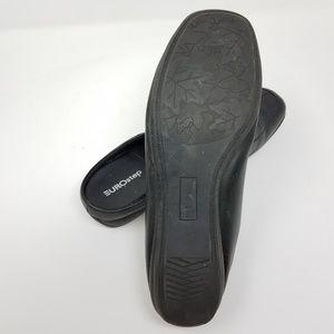 EUROstep Shoes - EUROstep Mule Clogs Black Leather